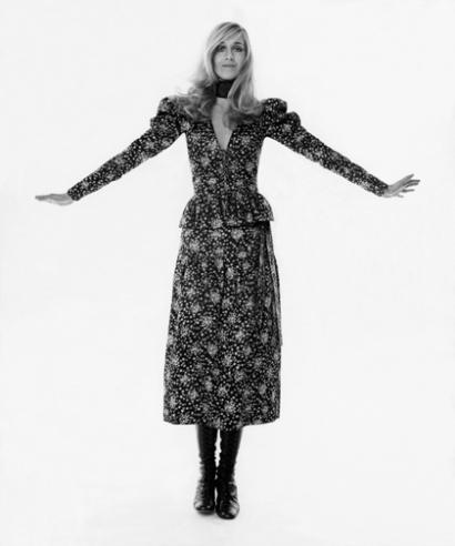 Photographie d'Arnaud de Rosnay. Publié dans Vogue, mars 1970