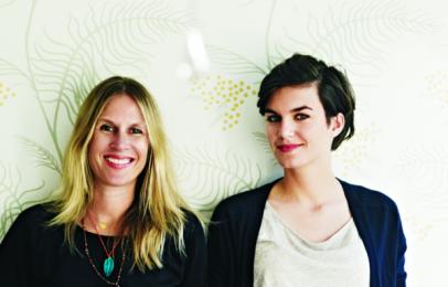 Annabelle Dentan et Pauline Martinet, créatrices de Chic Cham en 2010