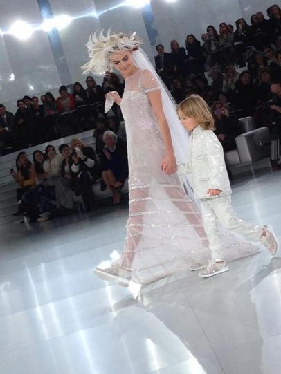 Chanel Haute Couture printemps-été 2014